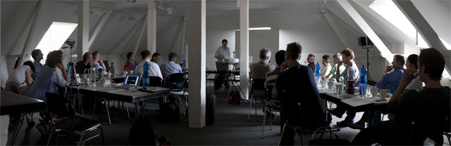 Workshop des VafK Köln in der Alten Feuerwache